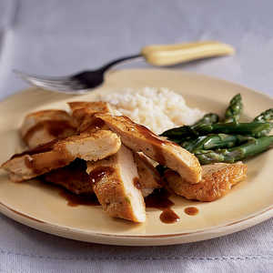 Chinese-Style Glazed Chicken Breasts Recipe
