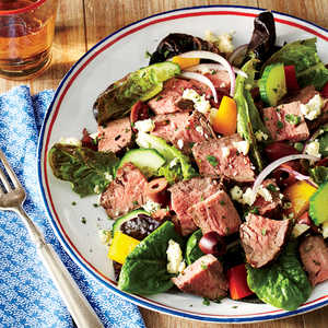 Chopped Salad with SteakRecipe