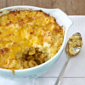 <p>Classic Baked Macaroni and Cheese</p>