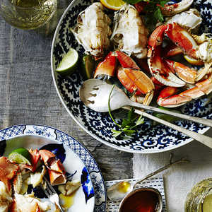 Cracked Crab with Butter and Citrus Recipe