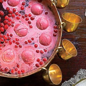 Cran-Raspberry-Vanilla Punch Recipe