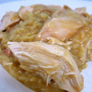 Crock Pot Chicken & Gravy Recipe