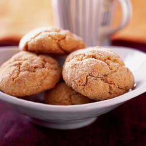 Double-Ginger CookiesRecipe