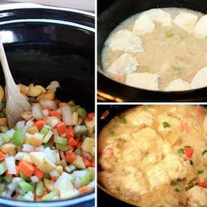 Easy Slow Cooker Chicken & DumplingsRecipe