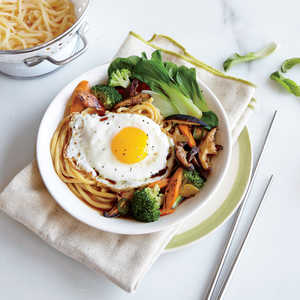 Egg Noodle Stir-Fry with BroccoliRecipe
