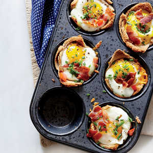 Egg and Toast Cups Recipe