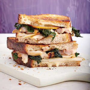 Fig-Glazed Chicken Panini with BrieRecipe