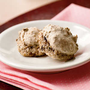 Fig-Pecan Macaroons Recipe