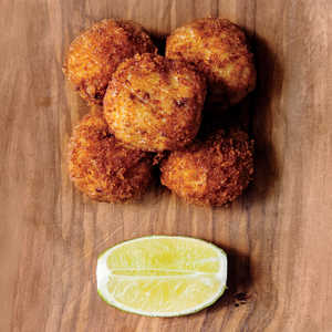Fish Chowder Croquettes with Rum AïoliRecipe