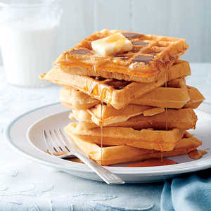 Fluffy Buttermilk WafflesRecipe