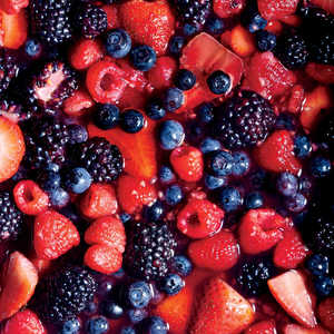 Gin and Maple Macerated BerriesRecipe