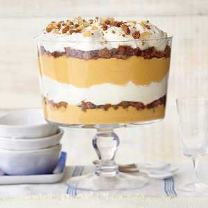 Ginger-Pumpkin Trifle with Vanilla Mascarpone CreamRecipe
