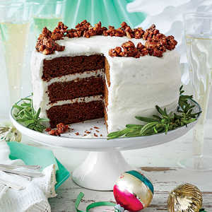 Gingerbread Cake with Buttermilk FrostingRecipe
