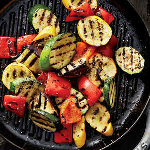Grilled Vegetables With Creamy Turmeric SauceRecipe
