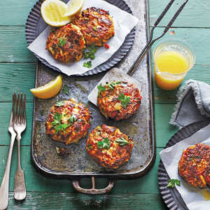 Gulf Crab Cakes with Lemon ButterRecipe