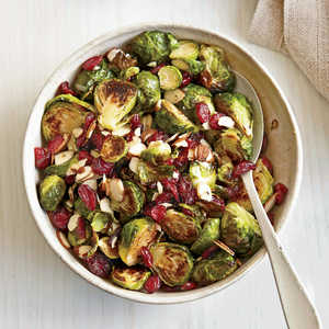 Honey-Roasted Brussels SproutsRecipe