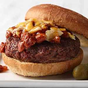 Chili Burger Recipe