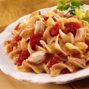 Skillet Chicken with Noodles