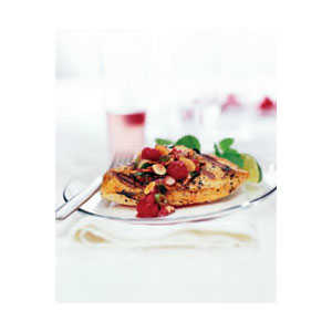 Almond Board Grilled Chicken with Almond and Raspberry Relish Recipes Recipe