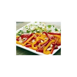 Almond Board Power-Packed Vegetables with Roasted Almonds RecipesRecipe