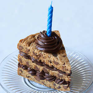 Chocolate Chip Cake Close