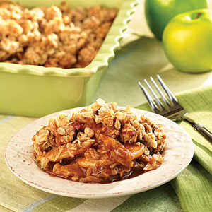 Apple Caramel Crisp RecipesRecipe