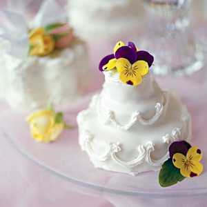 Small Tiered Cluster Cakes Recipe