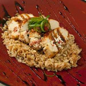 goat cheese stuffed chicken breasts