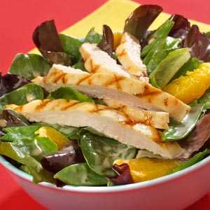 Hellmann's Mayonnaise Spice Spinach Chicken and Apple Salad RecipeRecipe