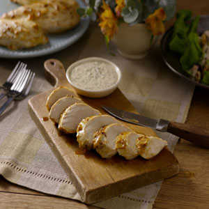 Blackened Chicken Breasts with Creole Mustard Sauce by Hellmann's® MayonnaiseRecipe