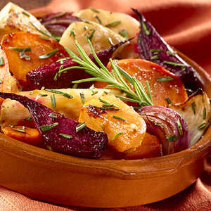 Hellmann's Mayonnaise Oven-Roasted Root Vegetables RecipeRecipe