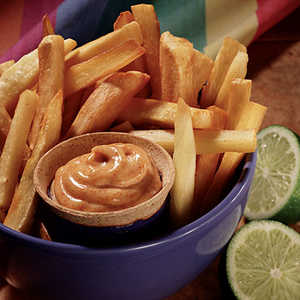 Hellmann's Mayonnaise Yuca Fries with Spiced Mayonnaise RecipeRecipe