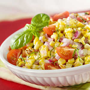 Grilled Corn & Tomato Salad RecipesRecipe