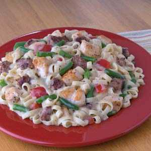 Knorr Rice & Pasta Sides cajun Chicken & Sausage with Pasta RecipeRecipe