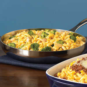 Kraft Cheesy Chicken and Broccoli Macaroni recipeRecipe