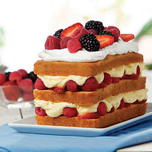 Berry Bliss Cake RecipesRecipe