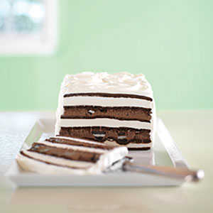 OREO & Fudge Ice Cream Cake RecipesRecipe