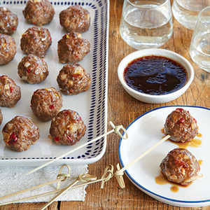 Sweet-and-Sour MeatballsRecipe