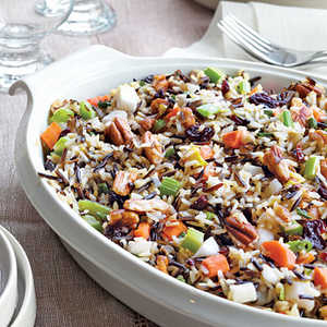 Wild Rice Stuffing with Dried Cherries and Toasted PecansRecipe
