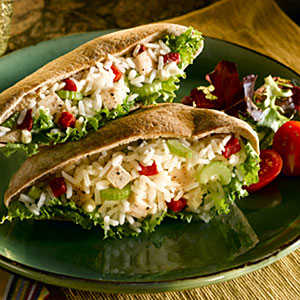 Chicken and Rice Salad with Roasted Red Peppers RecipesRecipe