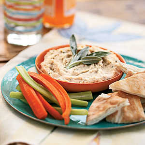 White Bean Dip with Rosemary and SageRecipe