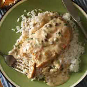 Creamy Chicken Piccata  Recipe