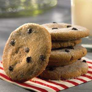 Chocolate Chip Shortbread Cookies RecipeRecipe