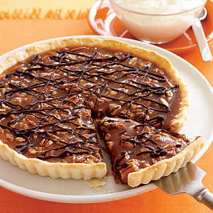 Caramel Turtle Tart Recipe