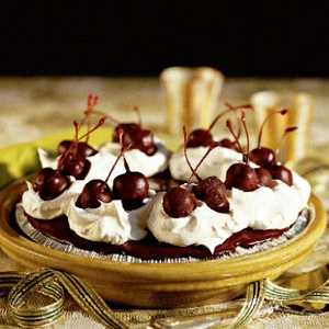Chocolate-Covered Cherry Pie Recipe