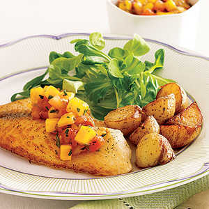 Grilled Fish with SalsaRecipe