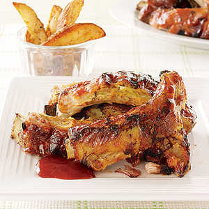 Slow-Cooked Baby Back RibsRecipe