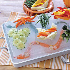 Snake-in-the-Lake Dip and CruditésRecipe