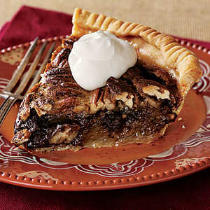 Tipsy Chocolate Pecan PieRecipe
