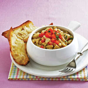 Tuscan-Style Tuna with White Beans Recipe